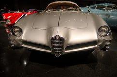 1953 Alfa Romeo b A T Bertone 5 przedstawiający w Blackhawk muzeum Ca USA fotografia stock