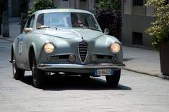 Alfa Romeo 1900 bei Mille Miglia 2016 Stockbild