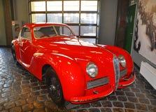 Alfa Romeo 6C2500 Β στο μουσείο Vadim Zadorozhny τεχνικής Arkhangelskoe, περιοχή της Μόσχας, της Ρωσίας Στοκ φωτογραφίες με δικαίωμα ελεύθερης χρήσης