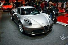 Alfa Romeo 4C obraz stock