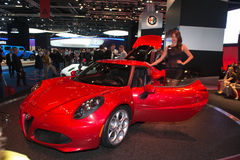 Alfa Romeo 4C Royaltyfri Bild