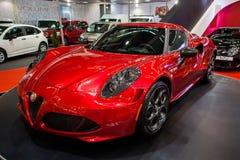 Alfa Romeo 4C Immagini Stock