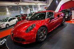 Alfa Romeo 4C Fotografia Stock Libera da Diritti