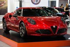 Alfa Romeo 4C Photographie stock