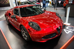 Alfa Romeo 4C Photo stock