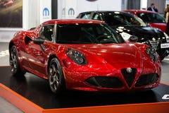 Alfa Romeo 4C Fotografia Stock