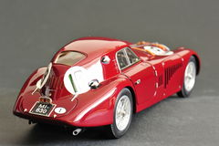 Alfa Romeo 8C 2900B #19 24H Frankreich, 1938 - achter juiste mening Stock Foto