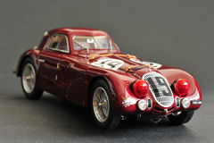 Alfa Romeo 8C 2900B #19 24H Frankreich, 1938 - främre rätsida Royaltyfria Foton