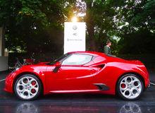 Alfa Romeo 4C Royalty Free Stock Images