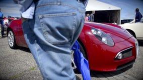 Alfa Romeo 8C Competizione stock video