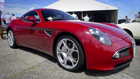 Alfa Romeo 8C Competizione stock video footage