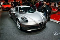 Alfa Romeo 4C Stock Image