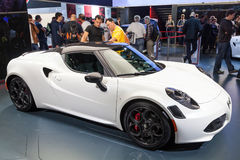 Alfa Romeo 4C at the IAA 2015 Stock Image
