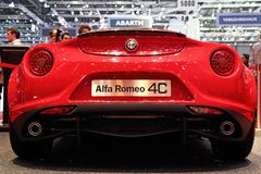 Alfa Romeo 4C Launch Edition - Geneva Motor Show 2013 Stock Photos