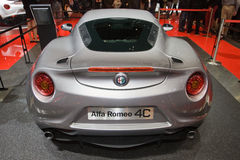 Alfa Romeo 4C World Premiere - Geneva Motor Show 2013 Stock Images