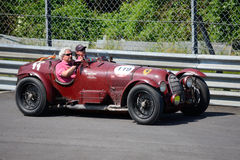 Alfa Romeo 8C 2900 A 1936 at the Mille Miglia Stock Photo