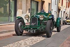 Alfa Romeo 8C 2300 Monza 1933 w Mille Miglia 2017 Fotografia Stock