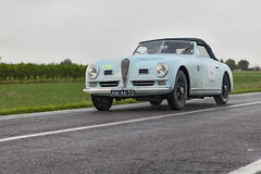 Alfa Romeo 6C 2500 SS Cabriolet in Mille Miglia 2013 Royalty Free Stock Images