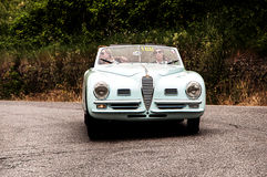 ALFA ROMEO 6C 2500 SS 1948 Royalty Free Stock Images