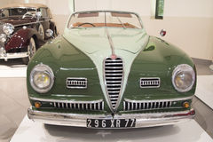 Alfa Romeo Cabriolet antique car Royalty Free Stock Images