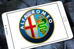 Alfa romeo car logo Royalty Free Stock Photography
