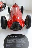 Alfa Romeo coche de competición del monoposto de 159 M Foto de archivo libre de regalías