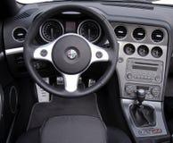 Alfa Romeo-Cockpit Lizenzfreies Stockbild