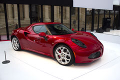 Alfa Romeo concept red Stock Photography