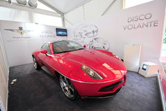 Alfa Romeo Disco Volante Touring on display during Singapore Yacht Show at One Degree 15 Marina Club Royalty Free Stock Photos