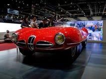 Alfa Romeo dyskoteka Volante Genewa 2016 Obrazy Royalty Free