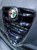 Alfa Romeo emblem Arkivfoton