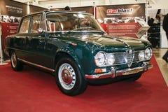 Alfa Romeo Giulia 1600 eccellente, 1965 Fotografia Stock