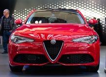Alfa Romeo Giulia Zdjęcie Royalty Free