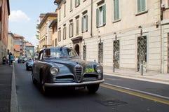 Alfa Romeo Giulia em Mille Miglia 2015 Imagens de Stock