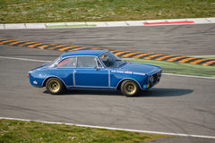 Alfa Romeo Giulia GTA test 2016 at Monza Royalty Free Stock Photography