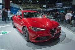 Alfa Romeo Giulia Royalty Free Stock Photo