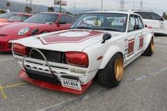 Alfa Romeo Giulia na pokazie Obraz Stock