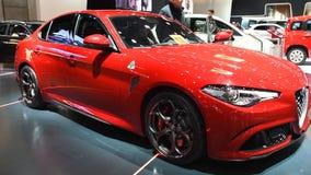 Alfa Romeo Giulia Quadrifoglio QV filme