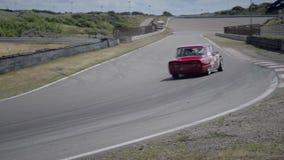 Alfa Romeo Giulia Race Car stock video
