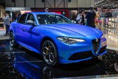 Alfa Romeo Giulia samochód zdjęcia royalty free