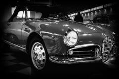 alfa Romeo Giulia spader koloru czerwień Obraz Royalty Free