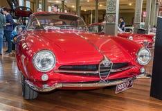 1964 Alfa Romeo Giulia Sprint Speciale samochód przy Motorclassica obraz stock