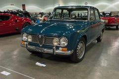 Alfa Romeo Giulia super Obrazy Stock