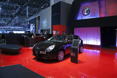 Alfa Romeo Giulietta Royalty Free Stock Photography