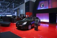 Alfa Romeo Giulietta royalty free stock photography