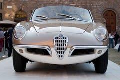Alfa Romeo Giulietta pająk 1955 obraz stock