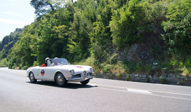 Alfa Romeo Giulietta Spider Royalty Free Stock Photos