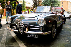 Alfa Romeo Giulietta Spider at Aspettando la Mille Miglia 2016 stock photo