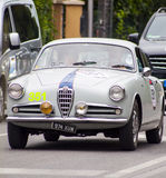 Alfa Romeo Giulietta Sprint 1955 Royaltyfria Bilder