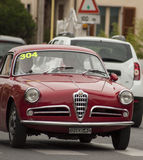 Alfa RomeoGiulietta Sprint1954 Stock Photos